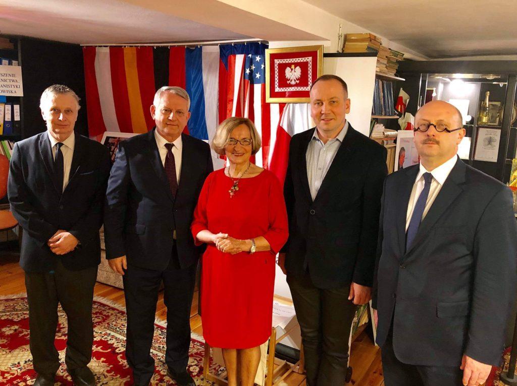 Spotkanie Zarządu ŚKP z Sławomirem Pallta